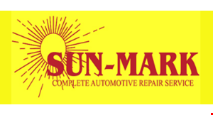 Product image for Sun-Mark Complete Automotive Repair Service $10 OFF any oil change.