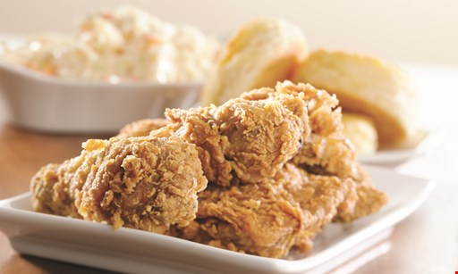Product image for Frank's Shrimp & Chicken $29.95 25 pcs. golden fried chicken with 2 family size fries