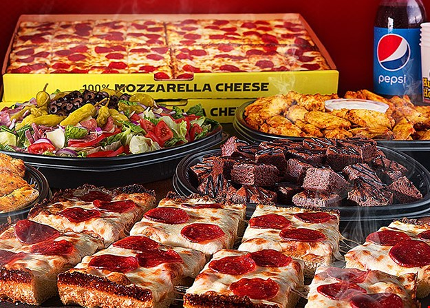 Product image for Hungry Howie's $12.99 LARGE SPECIALTY PIZZA.