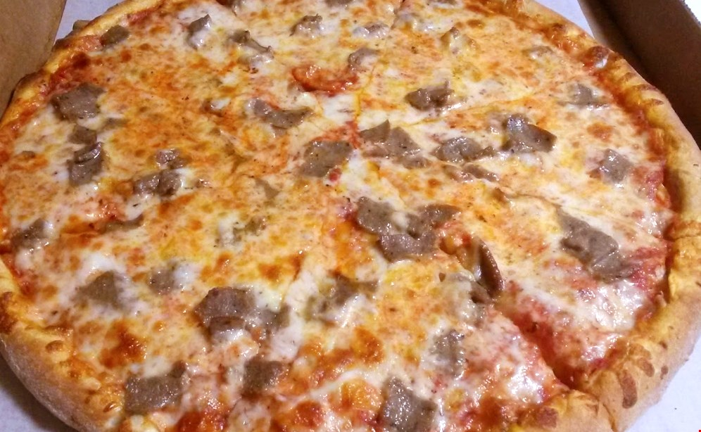 "Product image for Munchies $19.99 Family SPECIAL 14"" Cheese Pizza,10 Boneless Wings, & 2 Liter Soda ONLY."