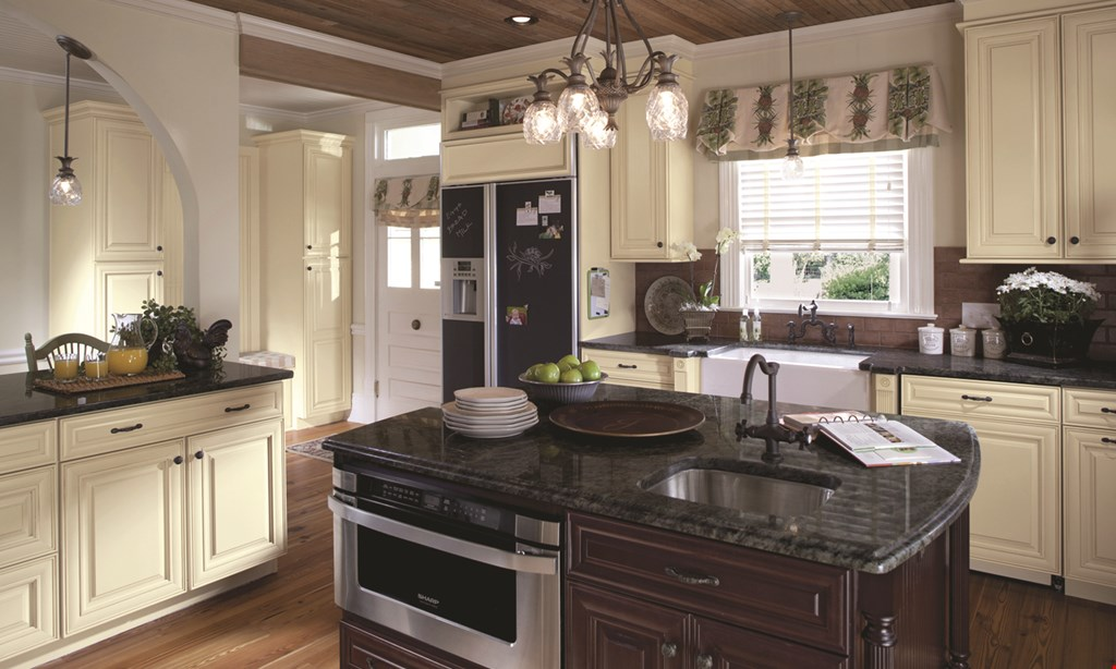 Product image for Kitchen Express Plus FREE INSTALLATION On Granite & Quartz Countertops PLUS reduced material prices. Purchase 30 sq. ft. of granite & receive a FREE 18 gauge stainless steel sink!