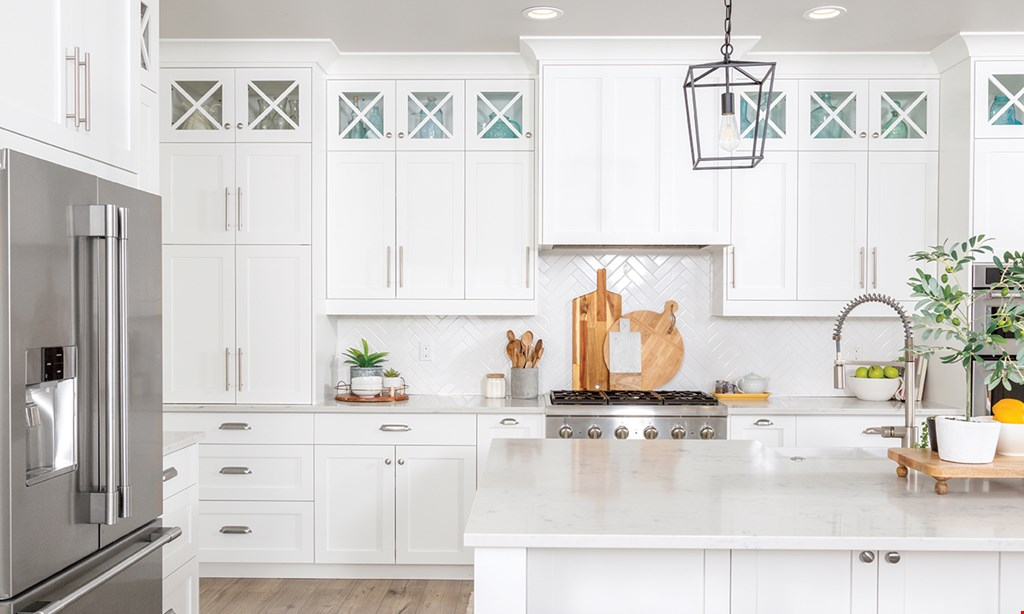 Product image for Reliable Cabinets & Counters FREE SINK, DOOR HANDLES & CROWN MOULDING