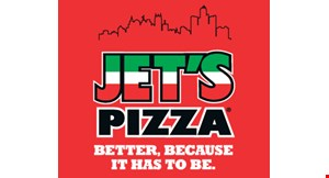 Product image for Jet's Pizza Davie Free small cheese pizza