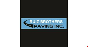Product image for Ruiz Brothers Paving $100.00 off any paving job!