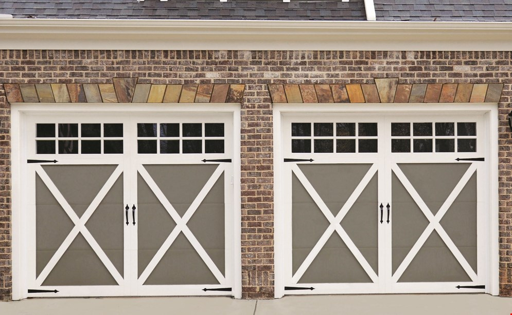 Product image for Balanced Garage Doors 10% OFF new door install.
