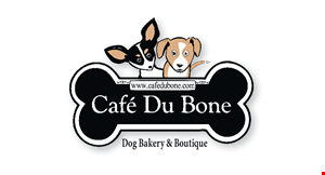 Cafe Du Bone Dog Bakery & Boutique logo