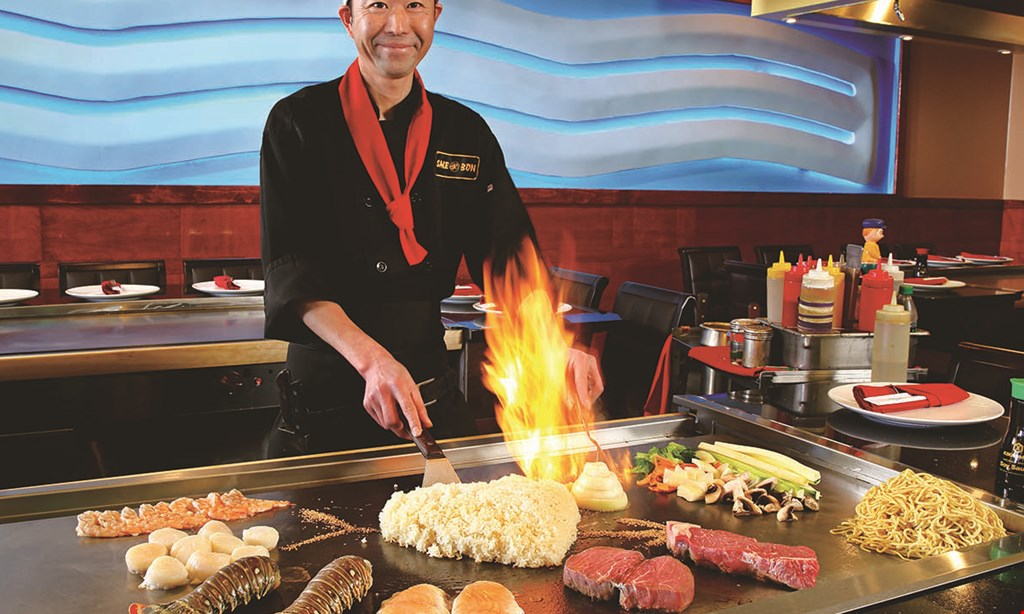 Product image for Sake Bon Hibachi, Sushi & Lounge $25 Off dinner purchase of $200 or more valid Sunday to Thursday