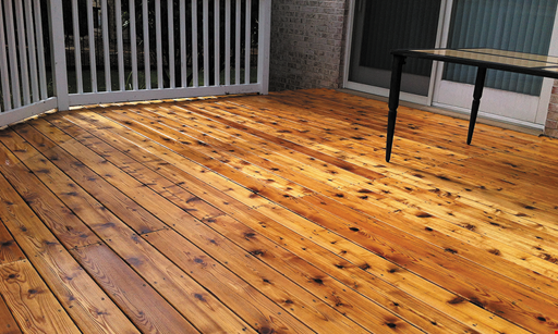 Product image for Deck Medic 10% off any service booked before May 23includes staining, redecking or pressure washing - not valid in Whitfield County