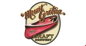Mount Gretna Craft Brewery logo