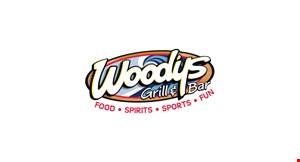 Woody's Grill & Bar logo