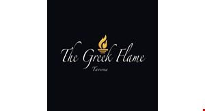 The Greek Flame logo