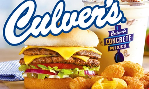 Product image for Culver's of Riverview Buy 1 Get 1 Free The Culver's® Double Deluxe Sandwich.