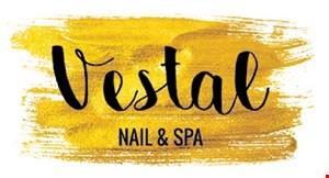 Vestal Nail & Spa logo