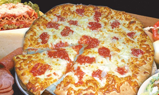 """Product image for Vita Italian Restaurant $10.99 1 Large 16"""" Cheese Pizza"""