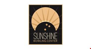Sunshine Bowling Center logo