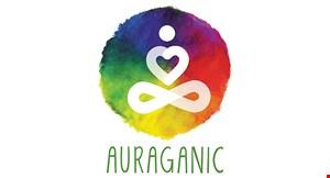 Auraganic Juicery logo