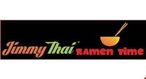 Product image for Jimmy Thai/Ramen Time $12 Off any purchase of $60 or more. Pre-tax orders.