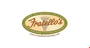 Product image for Fratello's Catering $12.50 For $25 Worth Of Casual Dining