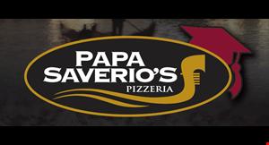 Product image for Papa Savarios FREE pizza