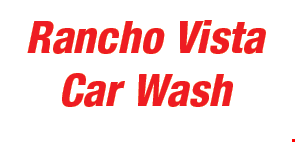 Product image for Rancho Vista Car Wash $3 OFF FULL SERVICE HAND WASH.