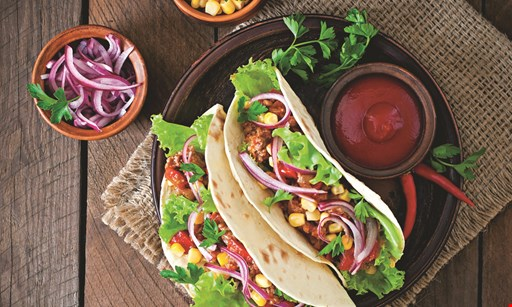 Product image for Forest Mexican Cantina 50% Off lunch. Buy one lunch at regular price, get the 2nd of equal or lesser value 50% off.