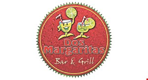 Product image for Dos Margaritas 1/2 off dinner entree