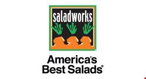 Saladworks of Mt. Laurel logo