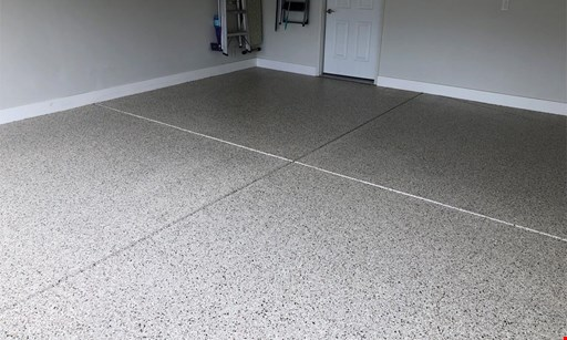 "Product image for Titan Floor Surface Technologies $500 Off 500 SF single area, 1/4"" Decorative Flake System."