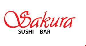 Product image for Sakura Sushi Bar 10% Off pick-up only.