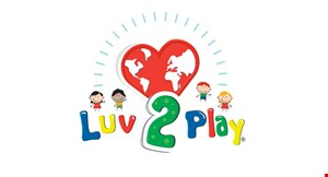 Product image for Luv 2 Play $17.95 For Unlimited Same-Day Play For 2 Children (Reg. $35.90)