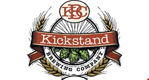 Product image for Kickstand Brewing Company $10 OFF any purchase of $90 or more dine in only