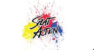 Splat Action Paintball logo