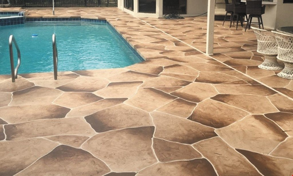 Product image for Patios, Pools & Driveways Inc $500 OFF any job of 1000 sq. ft. or more of travertine pavers.