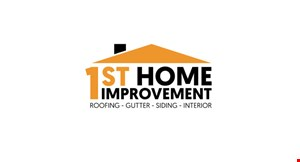 Product image for 1St Home Improvement FREE roof inspection plus $350 off entire job or claim