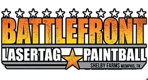 Battlefront Laser Tag & Paintball logo
