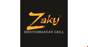 Zaky Mediterranean Grill Localflavor Com