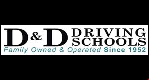 D & D Driving Schools logo