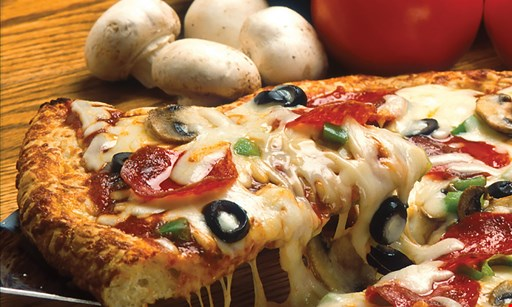 Product image for Papa Pizza Pie $39.99 one pepperoni pizza – papa size it (52 slices), Tray Salad, & 2 ltr bottle of soda.