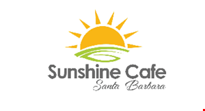 Sunshine Cafe Santa Barbara logo
