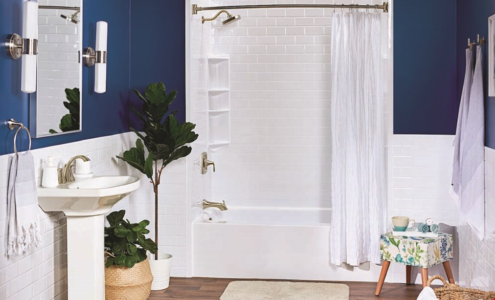 Product image for Bath Fitter LIMITED TIME OFFER! Save 50% ON ALL BATH ACCESSORIES*.