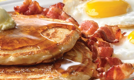 Product image for Friendly's 25% OFF ADULT BREAKFAST ENTREE.