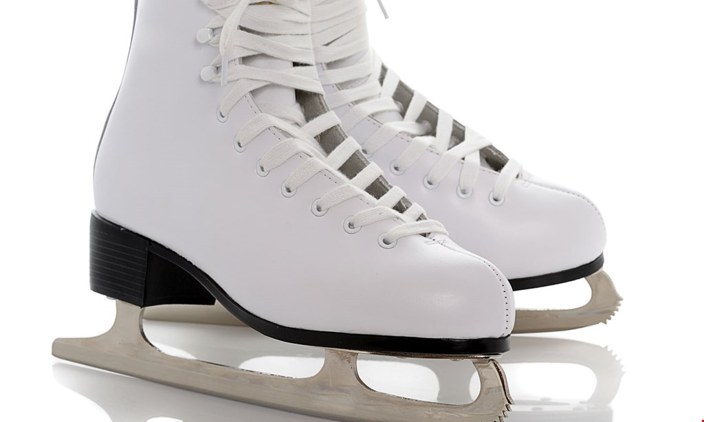 Product image for Lloyd Center Ice Rink $10 OFF Two all day admission & skate rentals.