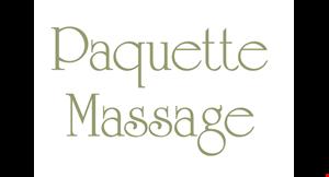 Paquette Massage logo