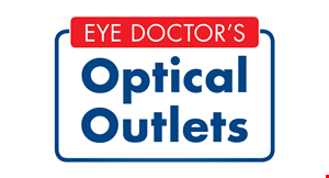 Product image for Optical Outlets 2 pair of glasses* $59.95 *Includes a large selection of the latest fashion framesup to $85 with single vision plastic lenses.