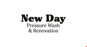 Product image for New Day Pressure Wash & Renovation $150  2-sided townhouse $185 3-sided townhouse.