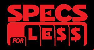 Specs for Less logo