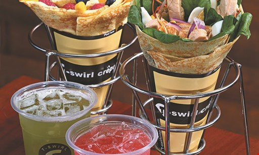 Product image for T-swirl Crepe $3 off any purchase of $15 or more.