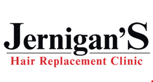 Jernigans Hair Replacement Clinic logo