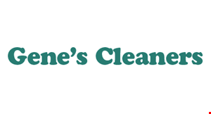 Gene's Cleaners logo