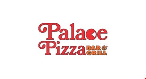 Product image for PALACE PIZZA $10 For $20 Worth Of Casual Dining